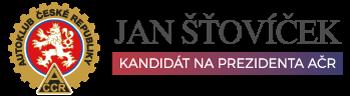 JAN ŠŤOVÍČEK - KANDIDÁT NA PREZIDENTA AČR
